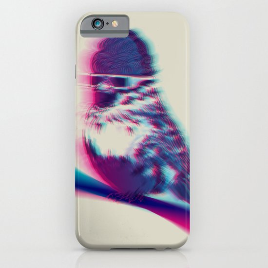 Bird Hair Day iPhone & iPod Case