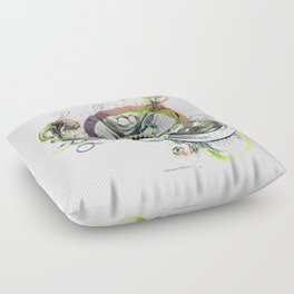 a good place for sincere thought Floor Pillow