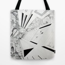 The thoughtful sky Tote Bag