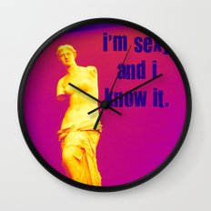 I'm sexy and I know it - Venus edition Wall Clock