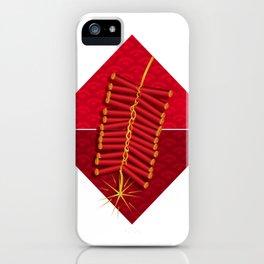 Firecrackers Vietnamese Lunar New Year Phao Tet Holiday iPhone Case