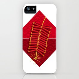 Firecrackers Vietnamese Lunar New Year Phao Tet Holiday iPhone Case