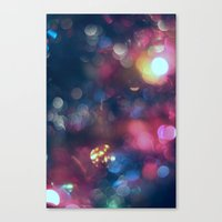 the lights Canvas Prints featuring Lights by Jeremy Jon Myers