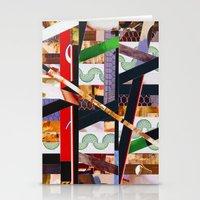 ruben ireland Stationery Cards featuring Ruben (stripes 19) by Wayne Edson Bryan