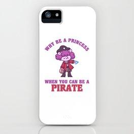 Pirate Princess sheep sailors goat iPhone Case