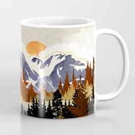 Autumn River Coffee Mug