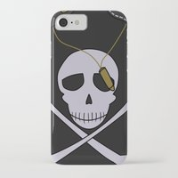 persona 4 iPhone & iPod Cases featuring Persona 4 Kanji Tatsumi Uniform by Bunny Frost