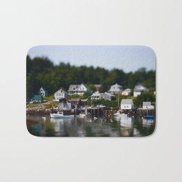 Tiny Maine Town Bath Mat