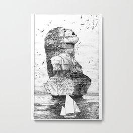 asc 757 - La nostalgie est une île (The remains) Metal Print