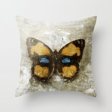 Vintage Butterfly 2 Throw Pillow