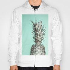 Silver Mint Pineapple Hoody