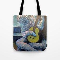 The Furry Guitarist Tote Bag