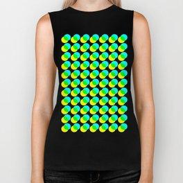 dots pop pattern 3 Biker Tank