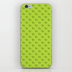 Dogs-Green iPhone & iPod Skin