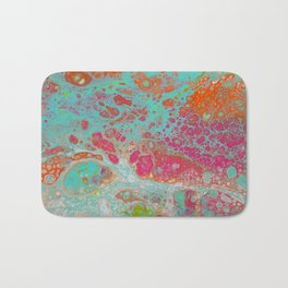 Color run riot Bath Mat