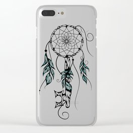 Poetic Key of Dreams Clear iPhone Case
