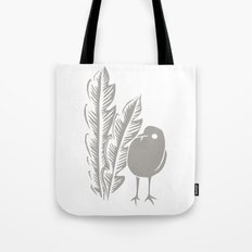 Graphic Bird Tote Bag
