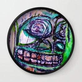 Sacred New Aiyansh, Nisga'a Totem Wall Clock