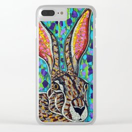 Jack Rabbit Clear iPhone Case