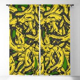 Banana Rama Green Blackout Curtain