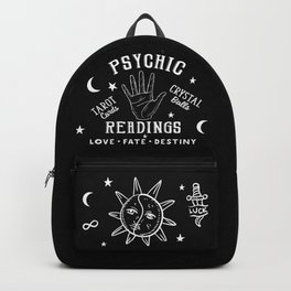 Psychic Readings Fortune Teller Art Backpack