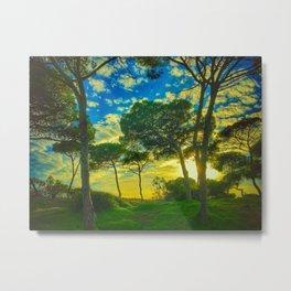 Rota Spain trees Metal Print
