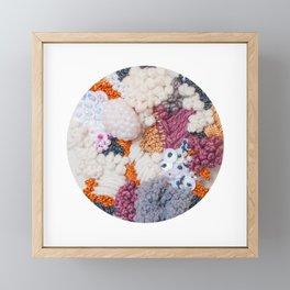 Lichen Cluster Framed Mini Art Print