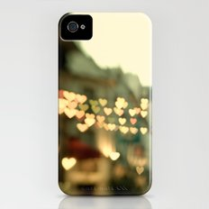 Looking for Love - Paris Hearts iPhone (4, 4s) Slim Case