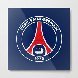 Paris Saint-Germain Metal Print