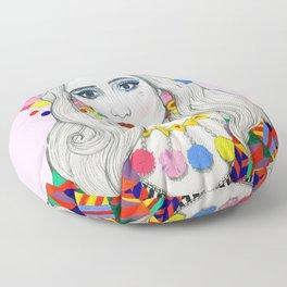 Colourful Fashion Floor Pillow