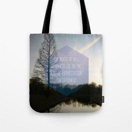 Roots Artprint Tote Bag