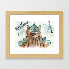 Basilique Framed Art Print