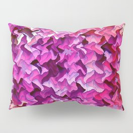 Pretty in wavy Pink..... Pillow Sham