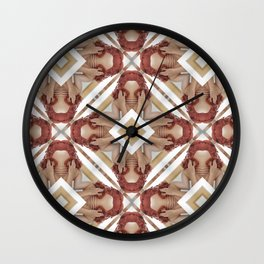 Normal n common woman Wall Clock