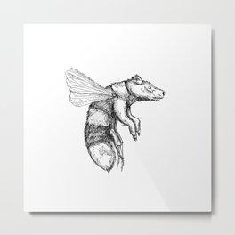 Bumblebear Metal Print