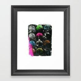 moon phases I Framed Art Print