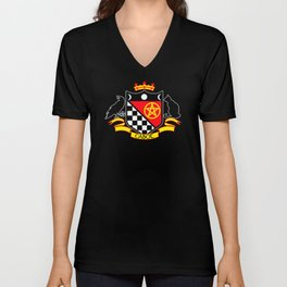 Cabot Crest Color/Black Unisex V-Neck