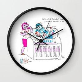 The Crib Wall Clock