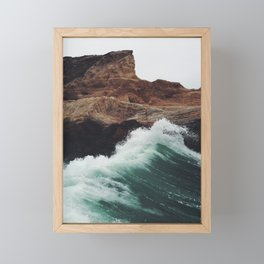 Montaña Wave Framed Mini Art Print