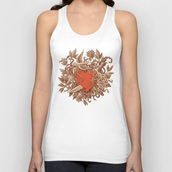 Heart of Thorns  Unisex Tank Top