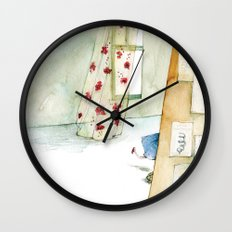 Runway Princess  Wall Clock