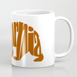 California Bear (Brown) Coffee Mug