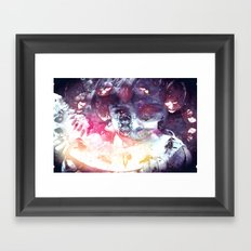 Where did you get that? Framed Art Print