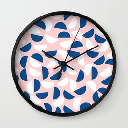 Semi Circles Wall Clock