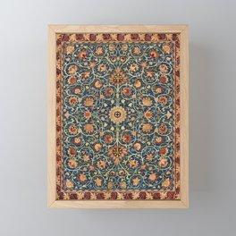 Holland Park Carpet by William Morris. Finest American art. Framed Mini Art Print