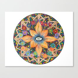 Shards of Love Canvas Print