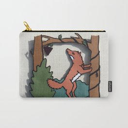 The Fox & The Grapes Carry-All Pouch