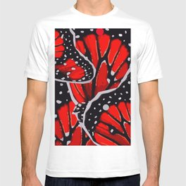 red monarch T-shirt