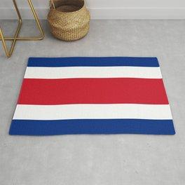 Costa Rica National Flag Rug