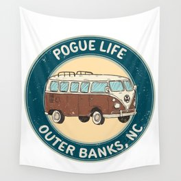 outerbanks nc - pogue life Wall Tapestry